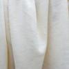 Bio Leinenjersey weiß, aus Zwirn