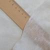 feinster Bio-Leinenjersey , aus weißem Leinengarn