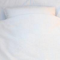 Bio Leinenbettdecke weiß