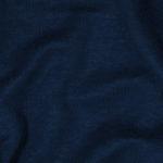 Bio Leinenjersey dunkelblau, gemäß GOTS, Herstellung Deutschland
