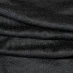 Bio Leinenjersey schwarz, gemäß GOTS, Herstellung Deutschland