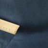 mittelschwerer Bio Leinenköper dunkelblau, feiner