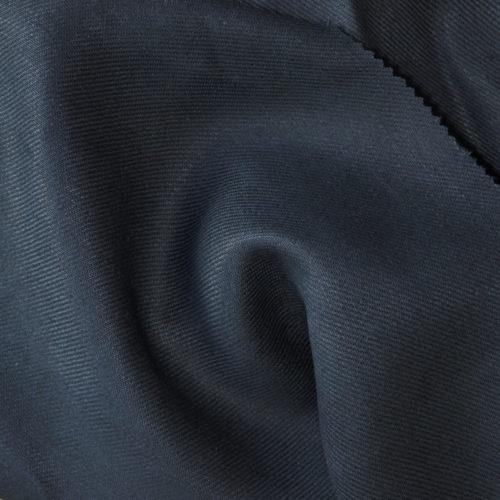 mittelschwerer Bio Leiinenköper dunkelblau, feiner